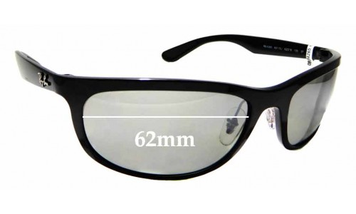 Sunglass Fix Replacement Lenses for Ray Ban RB4265 Chromance- 62mm wide