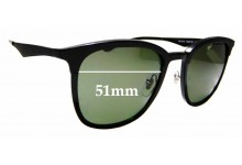 Sunglass Fix Replacement Lenses for Ray Ban RB4278- 51mm wide