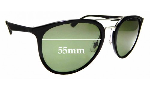 Sunglass Fix Replacement Lenses for Ray Ban RB4285 - 55mm wide