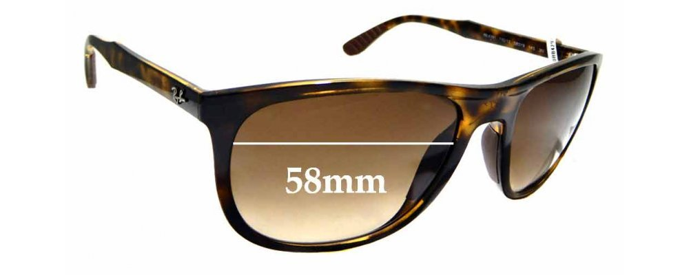 0b6e07b13e3 Sunglass Fix Replacement Lenses for Ray Ban RB4291 - 58mm wide ...
