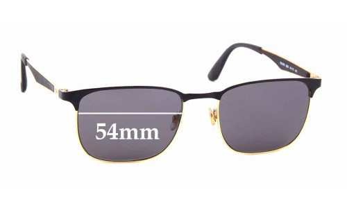 Sunglass Fix Replacement Lenses for Ray Ban RB6363 - 54mm wide