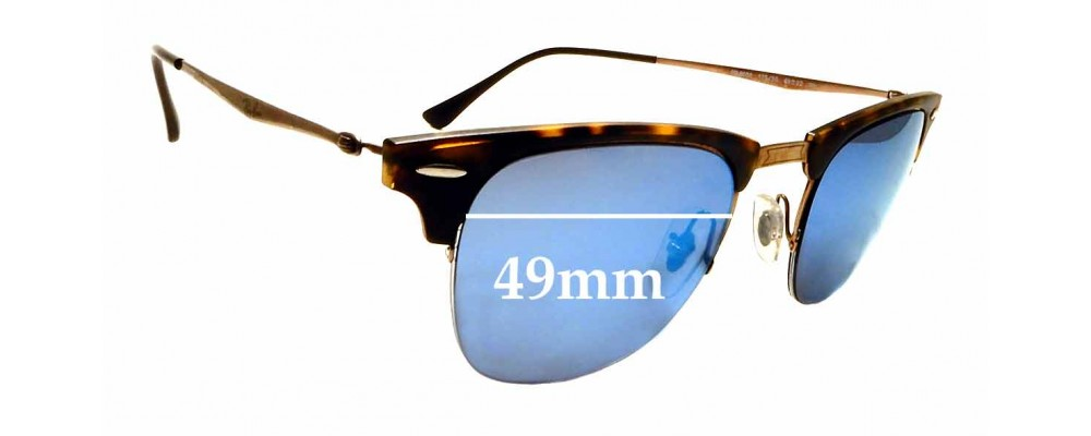 Sunglass Fix Replacement Lenses for Ray Ban RB8056 - 49mm Wide