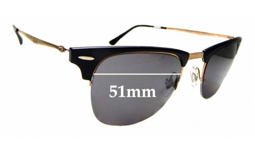 Sunglass Fix Replacement Lenses for Ray Ban RB8056 - 51mm Wide