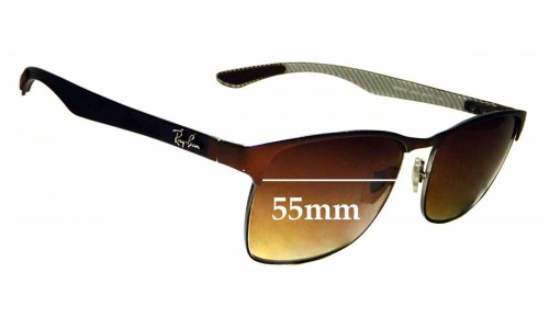 Sunglass Fix Replacement Lenses for Ray Ban RB8416 - 55mm wide