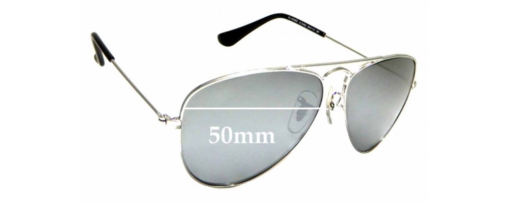 6939ef4808 Sunglass Fix Replacement Lenses for Ray Ban Jr RJ9506S - 50mm wide ...