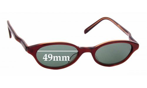 Sunglass Fix Replacement Lenses for Ray Ban W3299 -  49mm wide