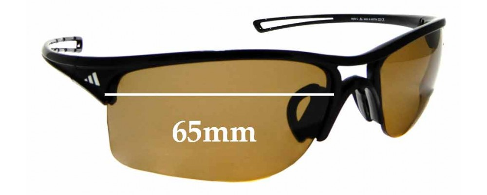 varilla Amedrentador auge  Adidas A405 Raylor L Replacement Lenses 65mm - by The Sunglass Fix™