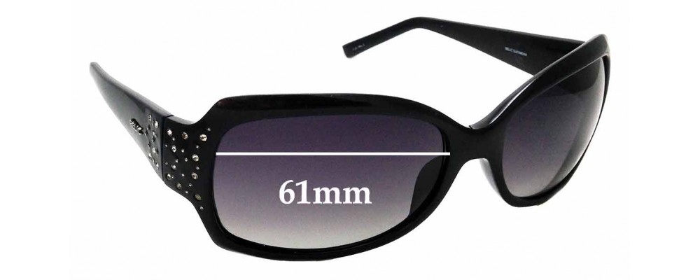Sunglass Fix Replacement Lenses for Relic Lula - 60mm Wide
