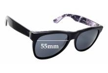 d0bd37ae9b9 Sunglass Fix Replacement Lenses for Retro Super Future Classic Marmo Alpi  807 - 55mm wide