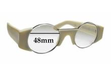 Sunglass Fix Replacement Lenses for Retro Super Future Super Gosha Rubchinskiy - 48mm wide