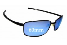 SFX Replacement Sunglass Lenses fits Revo Guide RE4054 66mm Wide