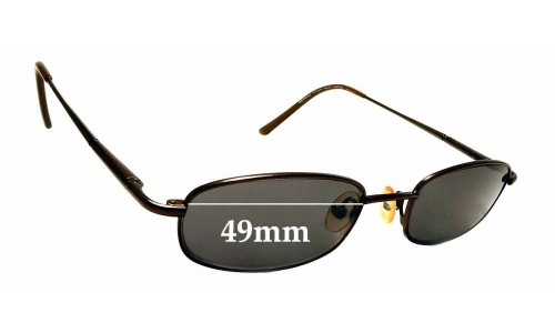 Sunglass Fix Replacement Lenses for Richard Taylor Scottsdale Steve - 49mm Wide