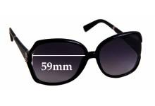 Sunglass Fix Replacement Lenses for Roberto Cavalli Danubrite 504S - 59mm wide