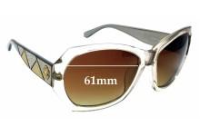 Sunglass Fix New Replacement Lenses for Roberto Cavalli Abelia 592S - 61mm Wide