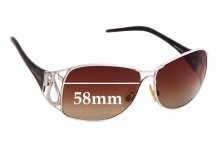 Sunglass Fix Replacement Lenses for Roberto Cavalli Calipso 190S - 58mm wide