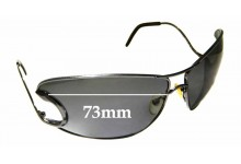 Sunglass Fix New Replacement Lenses for Roberto Cavalli Divina 71S - 71mm Wide
