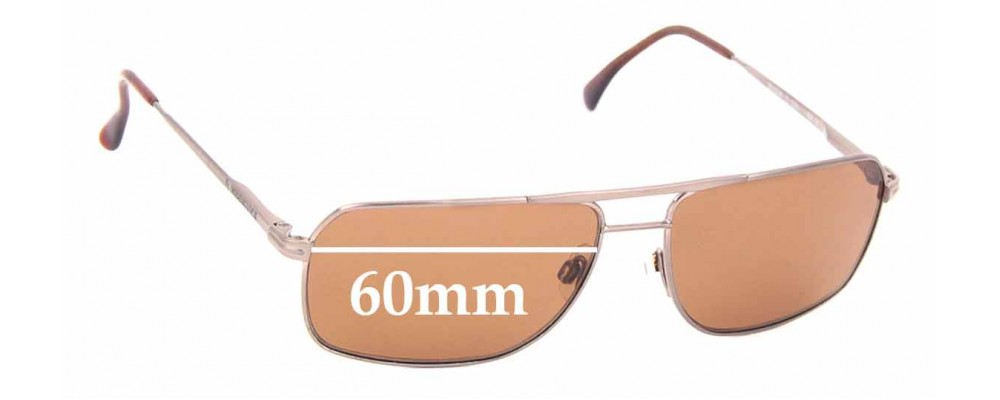 Sunglass Fix Replacement Lenses for Rodenstock R1274 - 60mm Wide