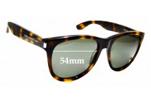 Sunglass Fix Replacement Lenses for Saint Laurent Surf SL101 - 54mm wide