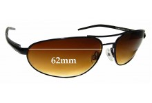 Sunglass Fix Replacement Lenses for Serengeti Como - 62mm wide