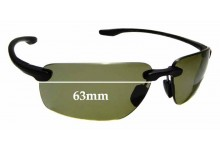 SFx Replacement Sunglass Lenses fits Electric Gauge 63MM WIDE