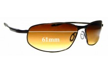 Sunglass Fix Replacement Lenses for Serengeti Matera - 61mm wide