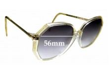 Sunglass Fix Replacement Lenses for SI Design Cellidor - 56mm wide