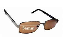 Sunglass Fix Replacement Lenses for Slazenger SL5468 - 54mm Wide