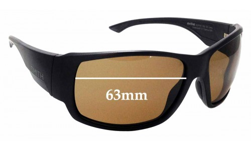 Sunglass Fix Replacement Lenses for Smith Dockside/N - 63mm wide