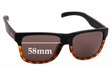 Sunglass Fix Replacement Lenses for Smith Lowdown XL - 58mm wide
