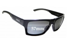 Sunglass Fix Replacement Lenses for Smith Outlier 2 - 57mm wide