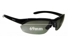Sunglass Fix Replacement Lenses for Smith Parallel Max - 69mm wide
