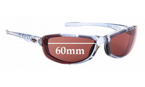 Sunglass Fix Replacement Lenses for Smith Sequel II - 60mm Wide