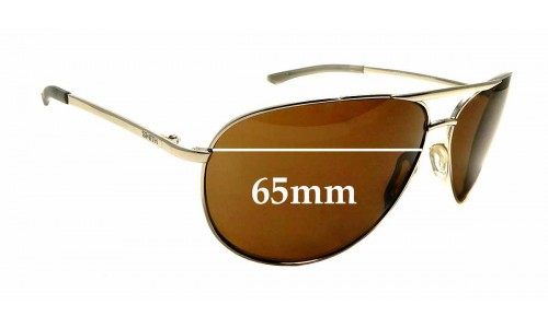 Sunglass Fix Replacement Lenses for Smith Serpico 2.0 - 65mm Wide