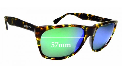 Sunglass Fix Replacement Lenses for Smith Tioga - 57mm wide