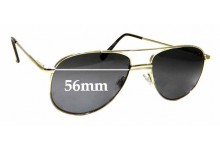 Sunglass Fix Replacement Lenses for Specsavers Bishop - 56mm wide
