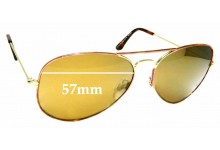Sunglass Fix Replacement Lenses for Specsavers Jersey Sun Rx - 57mm wide
