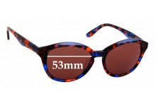 Sunglass Fix Replacement Lenses for Specsavers Morocco Sun Rx - 53mm wide