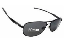 Sunglass Fix Replacement Lenses for Spec Savers Uluru Sun Rx - 59mm wide