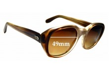 Sunglass Fix Replacement Lenses for Spect Art Diplomat - 49mm wide