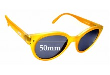 Sunglass Fix Replacement Lenses for Spektre Vitesse - 50mm wide