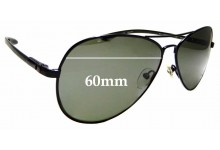 Sunglass Fix Replacement Lenses for Spiffy Society Rio - 60mm wide