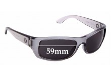 Sunglass Fix Replacement Lenses for Spy Optics Dakota - 59mm Wide