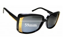 Sunglass Fix Replacement Lenses for Stella McCartney STM 80/S - 59mm wide