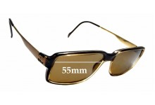 Sunglass Fix New Replacement Lenses for Steppers SI-169 - 55mm Wide