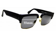 Sunglass Fix Replacement Lenses for Sunday Somewhere Little God - 55mm wide