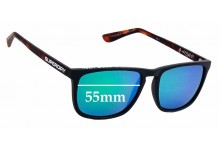 Sunglass Fix Replacement Lenses for Superdry SD Sun Rx Kiyoko - 55mm wide