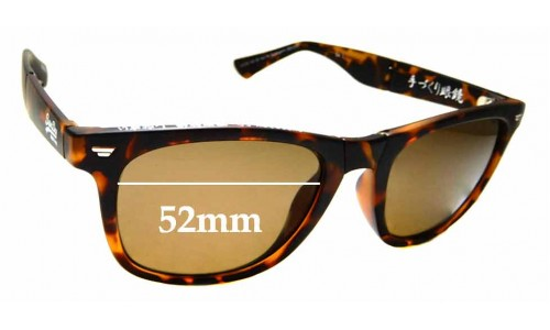 Sunglass Fix Replacement Lenses for Superdry SD Sun Rx Supergami - 52mm wide