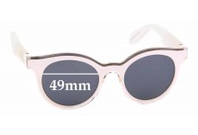 Sunglass Fix Replacement Lenses for Swatch SW01 - 49mm wide