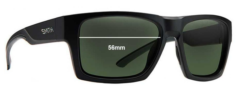850d46bc9b Sunglass Fix Replacement Lenses for Smith Outlier 56mm wide ...
