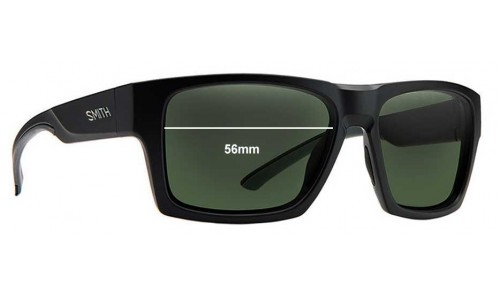 Sunglass Fix Replacement Lenses for Smith Outlier 56mm wide